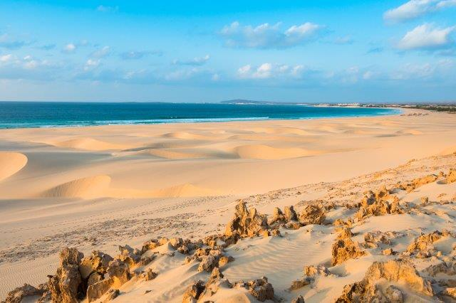 Return flights from Amsterdam to Cape Verde (Praia) from €225!