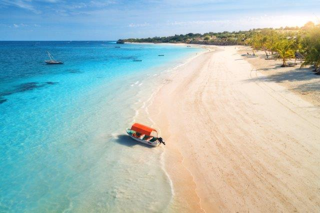 Full-service flights from Oslo, Norway to tropical Zanzibar for just €273!