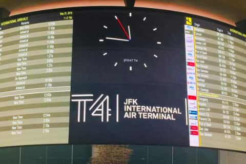 New York JFK Airport Guide - Terminal 4