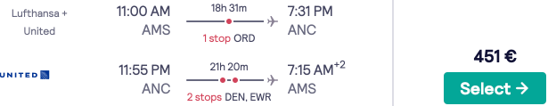 When Does United Release Christmas 2020 Flights? Cheap flights from Amsterdam to Alaska from €451rtn!