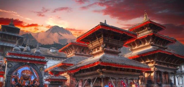 Return flights from Prague to Kathmandu, Nepal from €438!