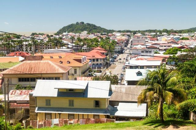 Return flights from Germanyto Cayenne, French Guiana for €513!