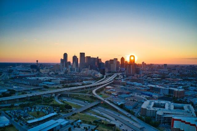 Return flights from many cities in Germany to Dallas in Texas for €284!