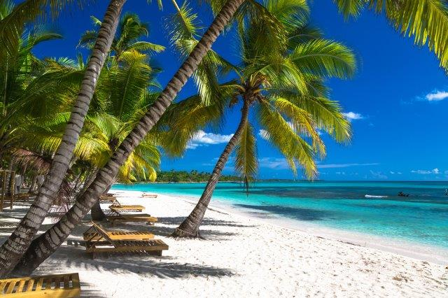 High-season flights from many European cities to Puntaa Cana, Dominican Republic for £253 or €308!