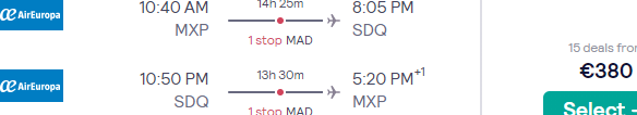 High-season flights from Italy to the Dominican Republic (Santo Domingo, Punta Cana) for €380!